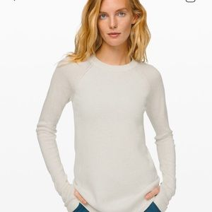 🍋Lululemon Still lotus sweater
